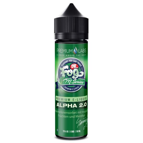 M-Series 50ml - Alpha2.0 - Shake and Vape (without nicotine)